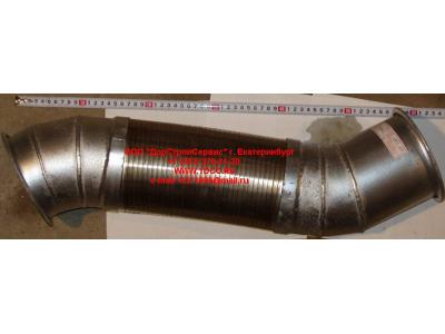 Гофра-труба выхлопная 8х4 d=120 H2/H3 HOWO (ХОВО) WG9731540002 фото 1 Ростов-на-Дону
