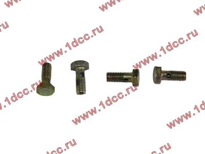 Болт пустотелый M6 обратки с форсунок H2 HOWO (ХОВО) VG1500080090 фото 1 Ростов-на-Дону