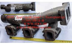 Коллектор выпускной задняя часть, двигатель WD615E3
