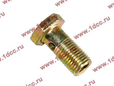 Болт пустотелый М12х1,25 (штуцер топливный) H HOWO (ХОВО) 90003962607 фото 1 Ростов-на-Дону