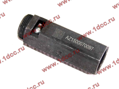 Клапан предохранительный главной масляной магистрали двигателя H HOWO (ХОВО) VG1500070097 фото 1 Ростов-на-Дону
