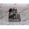 Кронштейн топливного фильтра грубой очистки (с помпой, 4 отверстия) H3/SH/F HOWO (ХОВО)  фото 2 Ростов-на-Дону