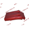 Брызговик передней оси правый H3 красный HOWO (ХОВО) WG1642230104 фото 4 Ростов-на-Дону